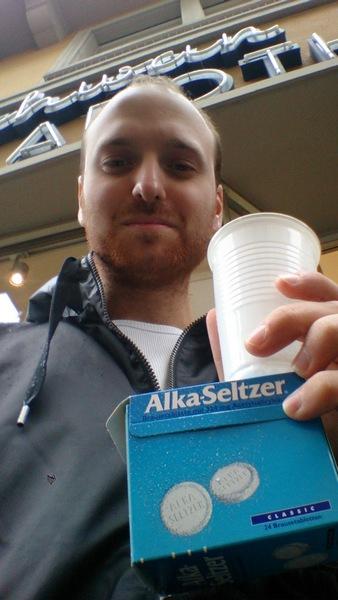 Alka Seltzer günaydını :)