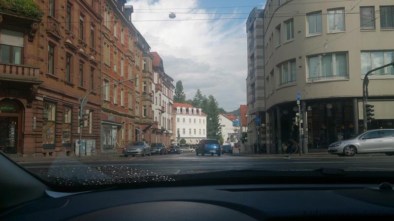 Heidelberg sokakları