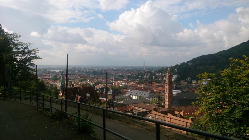 Heidelberg kalesi yolu