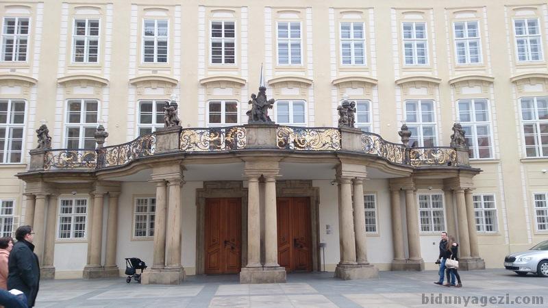 Prag cumhurbaşkanlığı sarayı