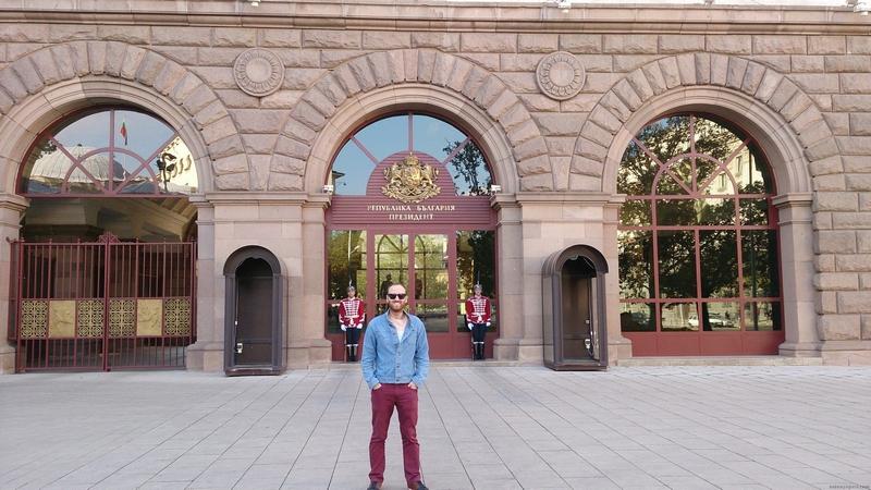 Bulgaristan başkanlık binası