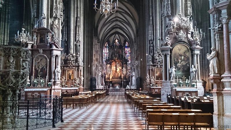 Aziz Stephan katedralinin içi