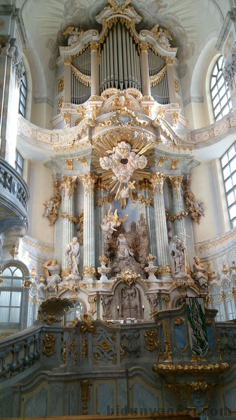 Frauenkirche'nin içi