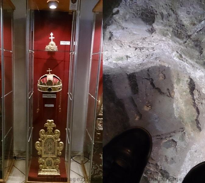 Kralın tacı ve mezarlık