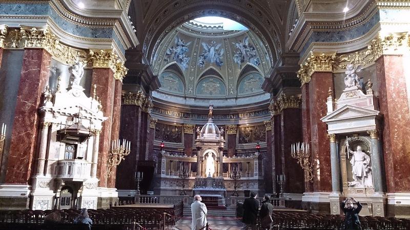 St. Stephen's Basilica'nın içi